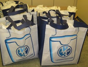 Willoughby Dental 123Dentist bags